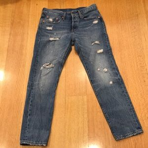 LEVIS 501 TAPER JEAN - NEVER WORN